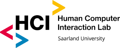 Human Computer Interaction Lab, Saarland University